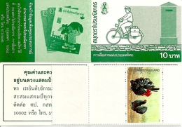 THAILAND, Booklet 147, 1991, Letter Writing Week - Thailand