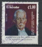 °°° EL SALVADOR - Y&T N°1352 - 1998 °°° - El Salvador