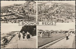 Multiview, Bognor Regis, Sussex, 1959 - Valentine's RP Postcard - Bognor Regis