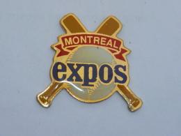 Pin's BASE BALL EXPOS MONTREAL - Baseball