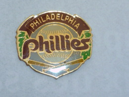 Pin's BASE BALL PHILLIES PHILADELPHIA - Baseball