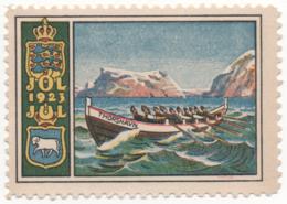 Denmark 1923, Julemaerke, Christmas Stamp, Vignet, Poster Stamp - Denmark