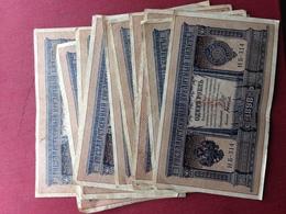 RUSSIE Lot De 10 Billets 1898 Bon état Général - Russie