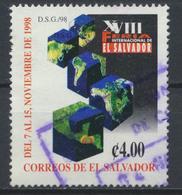 °°° EL SALVADOR - Y&T N°1354 - 1998 °°° - El Salvador