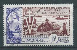 A.E.F  1954 . Poste Aérienne N° 57 . Oblitéré . - Oblitérés