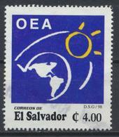 °°° EL SALVADOR - Y&T N°1355 - 1998 °°° - El Salvador
