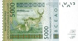WEST AFRICAN STATES P. 717Ke 5000 F 2007 UNC - Sénégal