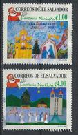 °°° EL SALVADOR - Y&T N°1366/67 - 1998 °°° - El Salvador