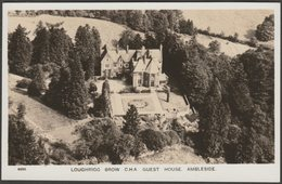 Loughrigg Brow C.H.A. Guest House, Ambleside, Westmorland, C.1950s - Aero Pictorial RP Postcard - Cumberland/ Westmorland
