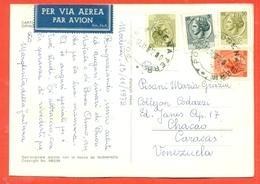 STORIA POSTALE PER L'ESTERO-SIRACUSANA-DA MODENA PER IL VENEZUELA - POSTA AEREA - 6. 1946-.. Repubblica