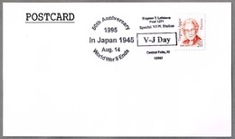 50th Anniv. JAPAN SURRENDERS - 50 Años RENDICION DE JAPON. Central Falls RI 1995 - WW2 (II Guerra Mundial)