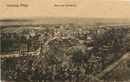 -ref-B289- Allemagne - Homburg - Blick Vom Schlossberg - Petit Plan Usine - Usines - Carte Bon Etat - - Autres
