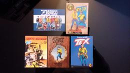 TEX I Settant'anni Lot De 5 Cartes Postales Bonelli Editore - Fumetti