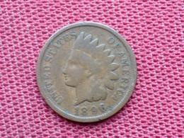 ETATS UNIS Monnaie De One Cent 1896 TTB - Federal Issues