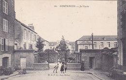 Coutances Le Lycée éditeur M C F L N°66 - Coutances