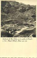 Peru, Quebrada Del Rio Chillón Con Los Pueblos De Obrajillo Y San Miguel (1930s) - Peru