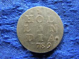 NETHERLANDS HOLLAND 2 STUIVERS 1789, KM48 - [ 1] …-1795 : Periodo Antiguo