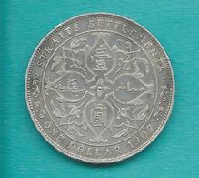 Straits Settlements - Edward VII - Dollar - 1907 - KM26 - Colonies