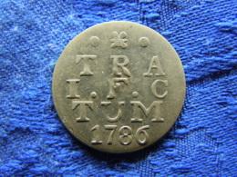 NETHERLANDS UTRECHT 2 STUIVERS 1786, KM112 - [ 1] …-1795 : Periodo Antiguo