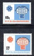 XP3991 - ALBANIA 1983 , Yvert Serie N. 1991/1992  ***  Telecomunicazioni - Albania