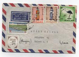 Iraq AIRMAIL COVER TO Hungary - Iraq