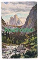 523 Reschreiter Die Zinnen Dolomiten Künstlerkarte - Bolzano (Bozen)