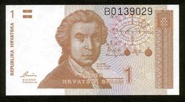Republika Hrvatska - Kroatien 1991, 1 Dinar, B0139029, UNC - Kroatien