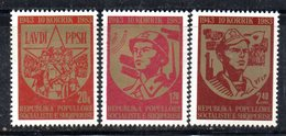XP3992 - ALBANIA 1983 , Yvert Serie N. 1977/1979  ***  Esercito Popolare - Albania