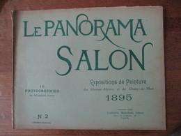 LE PANORAMA SALON EXPOSITIONS DE PEINTURE DES CHAMPS ELYSEES ET DU CHAMP DE MARS 1895 16 PHOTOGRAPHIES DE NEURDEIN N°2 - Art