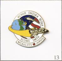 Pin's Espace - Nasa / Challenger STS-51-L (1986). Non Estampillé. EGF. T638-13 - Espace