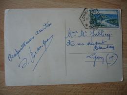 Longessaigne Recette Auxiliaire Obliteration Sur Lettre - Marcophilie (Lettres)