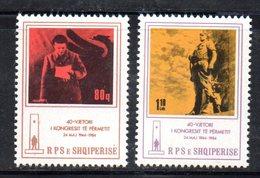 XP3995 - ALBANIA 1984 , Yvert Serie N. 2016/2017  ***  Congresso - Albania