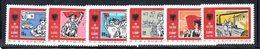 XP3996 - ALBANIA 1984 , Yvert Serie N. 2018/2023  ***  Liberazione - Albania