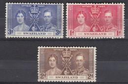 Swaziland - 1937 - Coronation - Swaziland (1968-...)