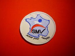 ECUSSON BRODE / SMV / SERVICE MILITAIRE VOLONTAIRE - Ecussons Tissu