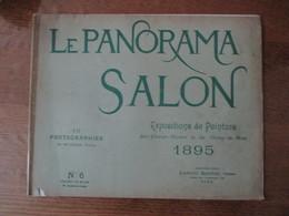 LE PANORAMA SALON EXPOSITIONS DE PEINTURE DES CHAMPS ELYSEES ET DU CHAMP DE MARS 1895 16 PHOTOGRAPHIES DE NEURDEIN N°6 - Art