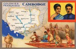 (84) CPA  Colonies Francaises  Cambodge  Produits Du Lion Noir (Bon état) - Cambodge