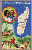 (84) CPA  Colonies Francaises  Madagascar  Produits Du Lion Noir (Bon état) - Madagascar