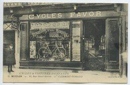 Clermont Ferrand - Commerce De Cycles Et Voitures D'enfants, Rue Saint Herem - Clermont Ferrand