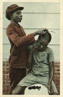 Suriname, Young Hair Dresser At Work (1936) Mission Postcard - Surinam