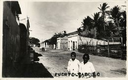 Venezuela, PUERTO CABELLO, Street Scene (1920s) RPPC Postcard - Venezuela