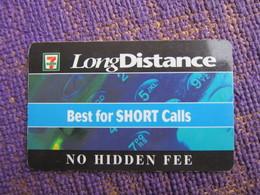 7 Eleven LongDistance Prepaid Calling Card - Canada