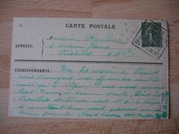 Daguin Vannes Morbihan Ses Sites Flamme Sur Lettre - Marcophilie (Lettres)