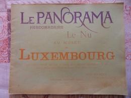 LE PANORAMA HEBDOMADAIRE LE NU AU MUSEE DU LUXEMBOURG - Art