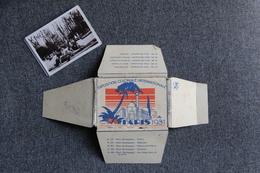 PARIS - Exposition Coloniale 1931 - Images Lait MONT BLANC - Parc Zoologique. Album Complet; - Chromos