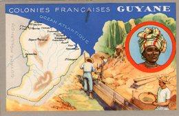 (84) CPA  Colonies Francaises  Guyane  Produits Du Lion Noir (Bon état) - Guyane