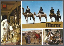 CP Komaroc N°78- Maroc Typique, Multivues - Folklore