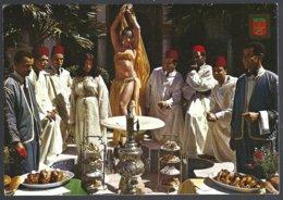 CP Komaroc N° 44-Maroc ,Casablanca-Restaurant Sijilmasa - Hotels & Restaurants