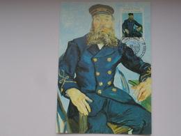 CARTE MAXIMUM CARD LE FACTEUR ROULIN BY VINCENT VAN GOGH BELGIQUE - Arts