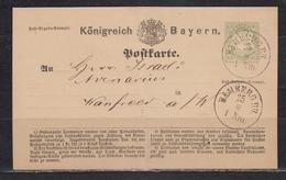 """Bayern Großer K1 """" Bamberg BH / 29.9 1 Nm """" Klar Auf P 1II, Rs Privater Zudruck Durchkreuzt - Bayern"""